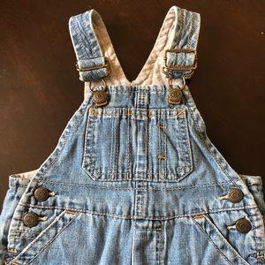 Baby Gap Blue Jean Overalls